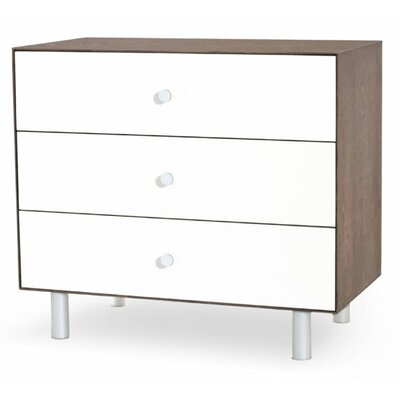 Oeuf Merlin 3 Drawer Dresser with Classic Base