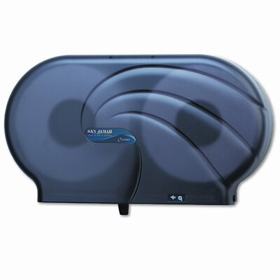 San Jamar Oceans Twin JBT Toilet Tissue Dispenser
