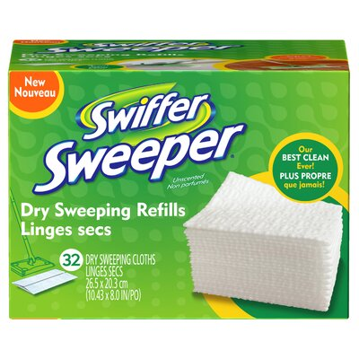 Swiffer Sweeper Dry Sweeping Refill (Set of 32)
