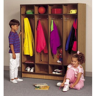 "Fleetwood 60"" H Children's Locker with Cubbies"