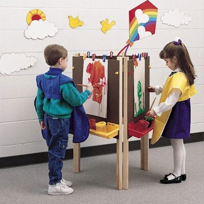 Fleetwood Koala-Tee Adjustable Triple-Sided Easel