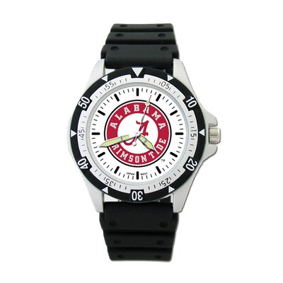 NCAA Team Logo Watch with Rubber Strap