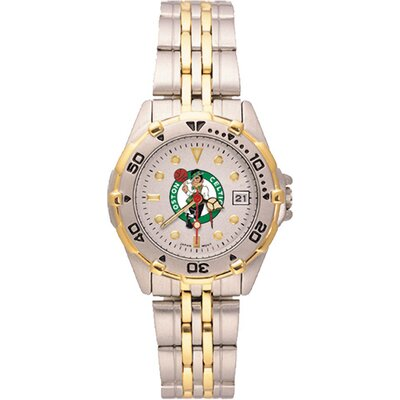 LogoArt® NBA Ladies All Star Bracelet Watch with Team Logo Dial