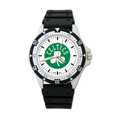 LogoArt® NBA Team Logo Watch with Rubber Strap