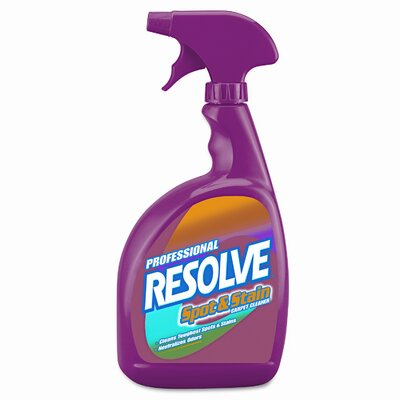 Resolve Pro Spot & Stain Carpet Cleaner, 32oz Spray Bottle