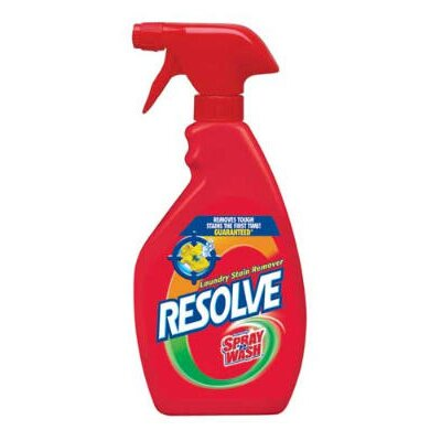 Resolve Spray'n Wash Laundry Stain Remover, 22 oz., 12/Case