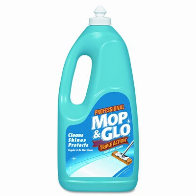 Mop & Glo Triple Action Floor Cleaner, 64oz Bottle