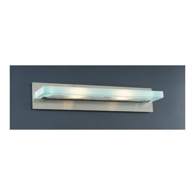 PLC Lighting Slim 2 Light Vanity Light