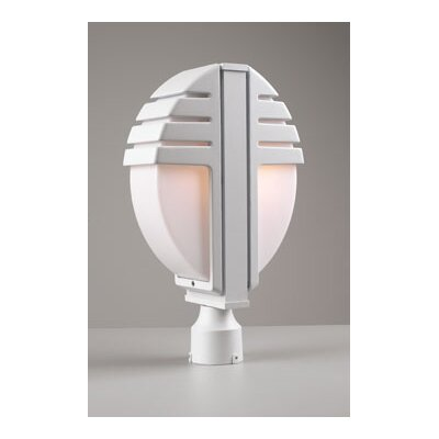 "PLC Lighting Synchro 18"" x 11""  Post Lantern"