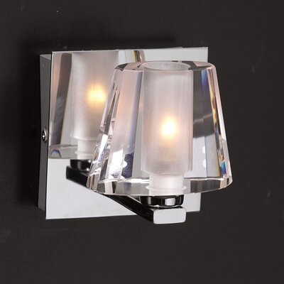 PLC Lighting Cheope  Wall Sconce in Polished Chrome