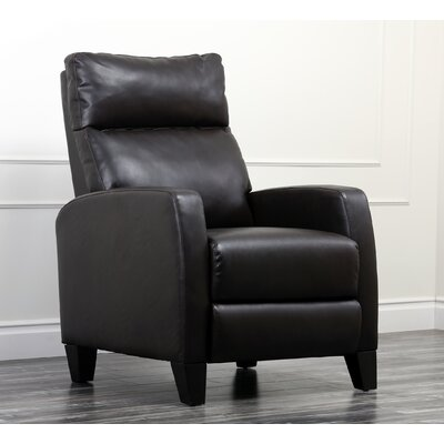 Roca Leather Pushback Recliner