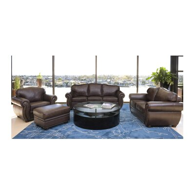 Palazzo Leather Living Room Collection