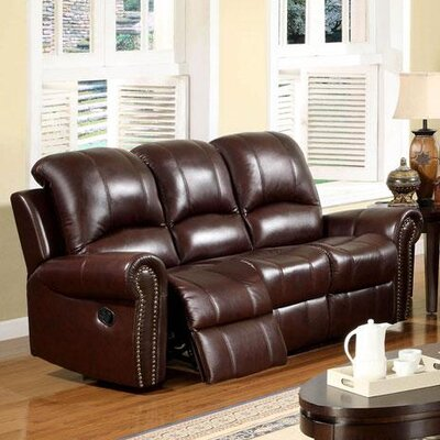 Abbyson Living Sedona Reclining Italian Leather 2 Piece Set