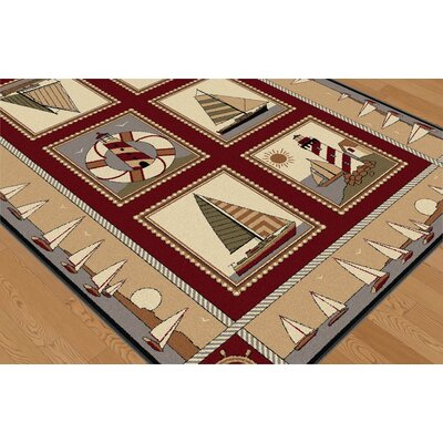 Tayse Rugs Nature Lodge Novelty Rug