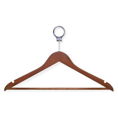 Hotel Suit Hanger in Cherry (24 Pack)
