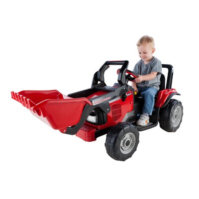 Peg Perego 12V Case IH Power Scoop Tractor