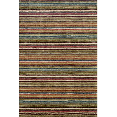 Tufted Brindle Stripe Spice Rug