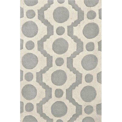 Dash and Albert Rugs Tufted Circle Fret Rug