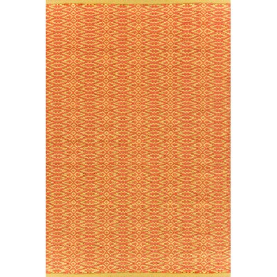 Dash and Albert Rugs Fair Isle Paprika/Curry Geometric Rug