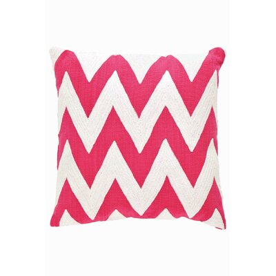 Dash and Albert Rugs Fresh American Chevron Polypropylene Pillow
