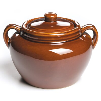 Ceramic Oval Bean Pot