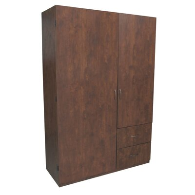 Hazelwood Home Wardrobe Armoire
