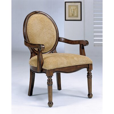 Hazelwood Home Hazelwood Home Faux Chenille Arm Chair