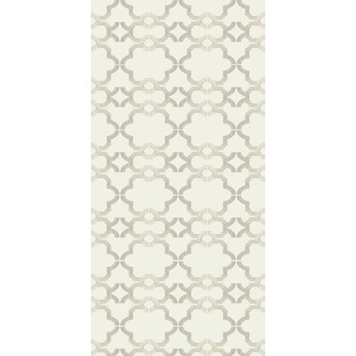 Kreme LLC Handcrafted Acorn Gate Wallpaper in Ivory