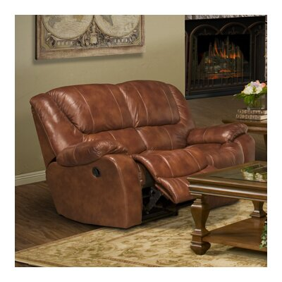 Parker Living Motion Hercules Leather Reclining Loveseat