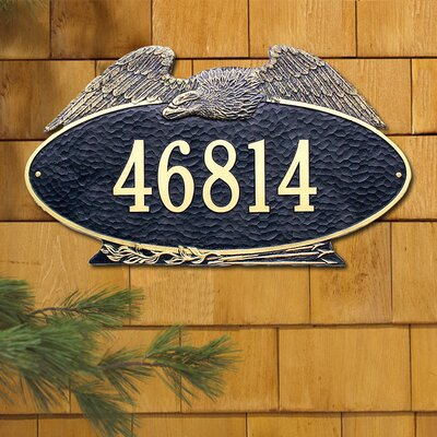 Whitehall Products Eagle Estate Address Plaque