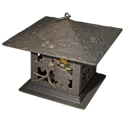 Whitehall Products Dragonfly Tea Lantern