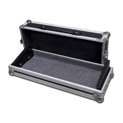 "Road Ready Cases 19"" Rackmount Case, 4U Deep for Lighting Controllers"