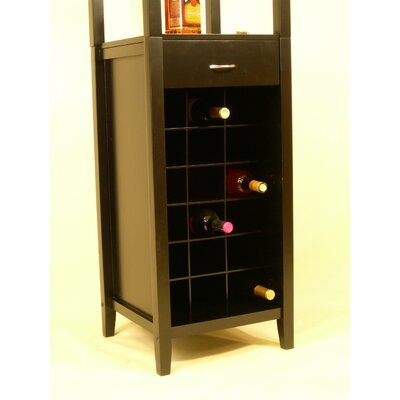 Proman Products Galina 18 Bottle Wine Cabinet