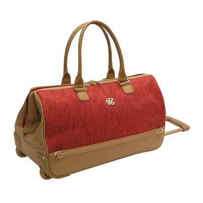 "Oleg Cassini Boutique 20"" Wheeled Duffel"
