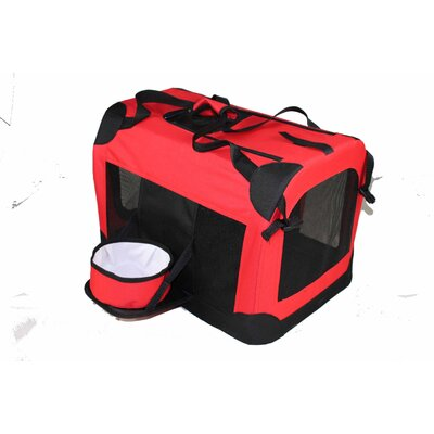 Pet Life Deluxe 360° Vista View Pet Carrier in Red