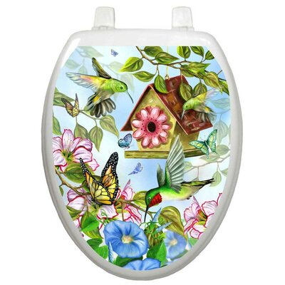 Toilet Tattoos Themes Hummingbirds Toilet Seat Decal