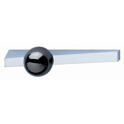 Handle Pull in Chrome Matte and Black Nickel Plated