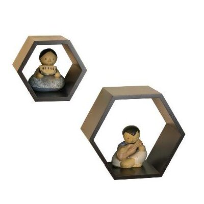 Danya B Nesting Hexagonal Shelf (Set of 2)