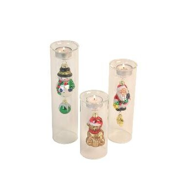 Danya B Christmas Tealight Holders (Set of 3)