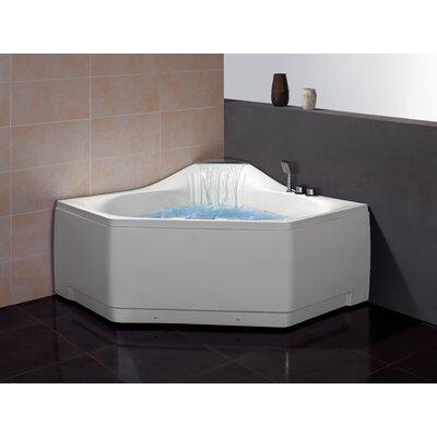 59 X 39 Corner Whirlpool Tub Wayfair