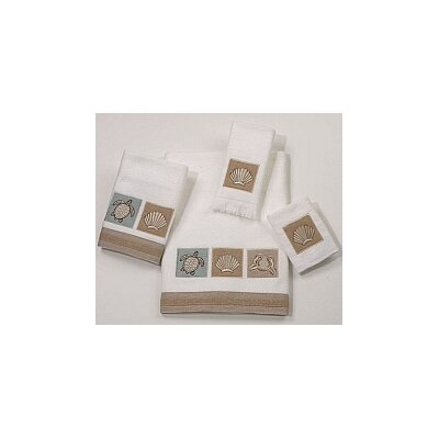 Avanti Linens Sand Shells 4 Piece Towel Set