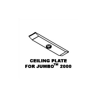Peerless Ceiling Plate for Jumbo Mounts