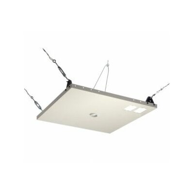 Peerless Suspended Ceiling Plate for Jumbo Mounts,