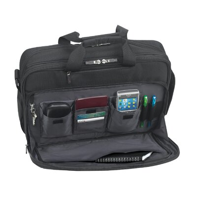 SOLO CASES Sterling CheckFast™ Laptop Portfolio in Black