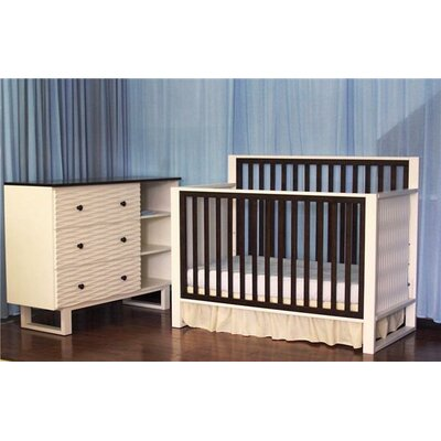 Eden Baby Furniture Moderno Two Piece Convertible Crib Set