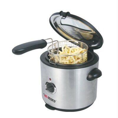 E-Ware Deep Fryer in Brushed Stainless Steel
