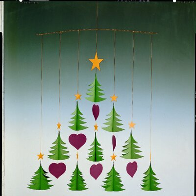 Flensted Mobiles Ten Christmas Tree Mobile