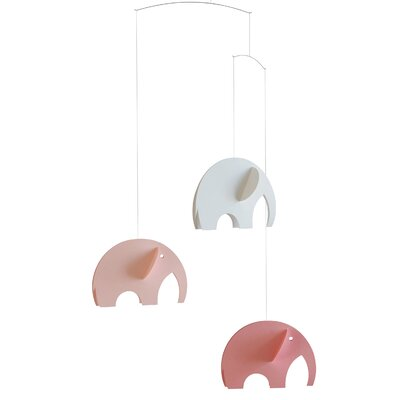 Flensted Mobiles Olephant Mobile in Pastel