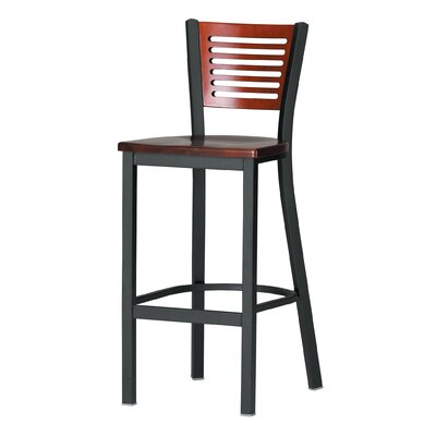 "Grand Rapids Chair Melissa Anne Custom Back Barstool (24"" - 36"" Seats)"