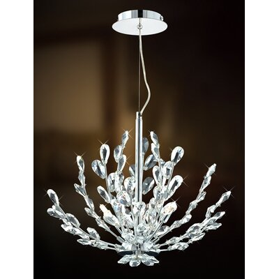 Filigree 3 Light Foyer Pendant